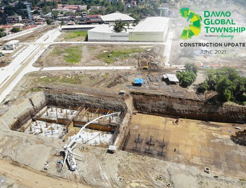 Davao Global Township Construction updates as of June 2021